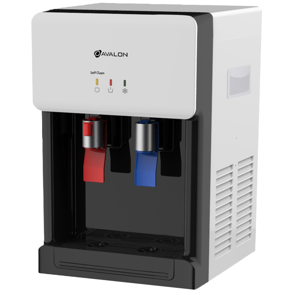Avalon Countertop Self Cleaning Bottleless Water Cooler Water Dispenser - Hot & Cold Water, NSF Certified Filter- UL/Energy Star Approved