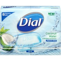 Dial Coconut Water & Bamboo Leaf Extract Glycerin Soap 2 lb. Package