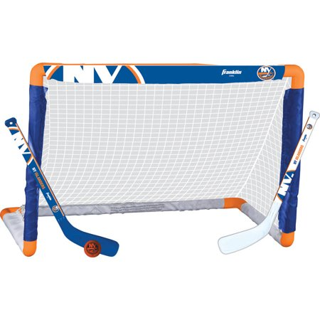 Franklin Sports NHL New York Islanders Mini Hockey Set