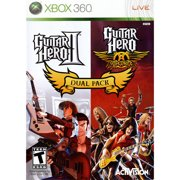 Guitar Hero II & Guitar Hero Aerosmith Dual Pack (Xbox 360)