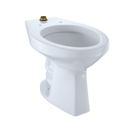 TOTO CT705ULN#01 Elongated 1.0 GPF Floor-Mounted Toilet Bowl (Cotton White)