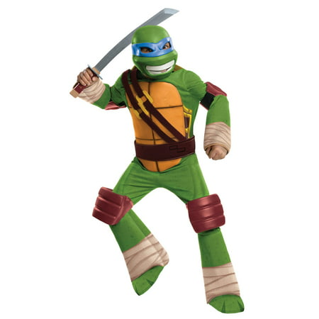 TMNT Leonardo TV Boys Deluxe Costume