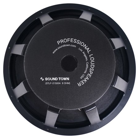 """Sound Town 21"""" 1000W Cast Aluminum Frame Woofer, Low Frequency Driver, Replacement Woofer for PA/DJ Subwoofer Cabinets - 18 Low Frequency Transducer Woofer"""