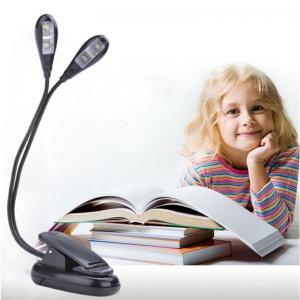 Adjustable USB Rechargeable LED Reading Light Clip-on Clamp Bed Table Desk Lamp by