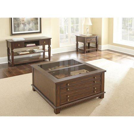 Steve Silver Furniture Livonia Square Coffee Table Set