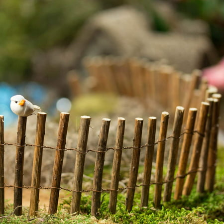 Sweet Handcrafted Miniature Twig and Wire Fence for Displays, Fairy Gardens, and Crafting, Sweet Handmade Look Miniature Twig and Wire Fence for.., By Inspired by - My Fairy Gardens