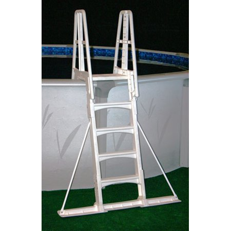 Vinyl Works Slide-Lock A-Frame Above Ground Pool Ladder Stabilizer (Swimming Accessories Canada)