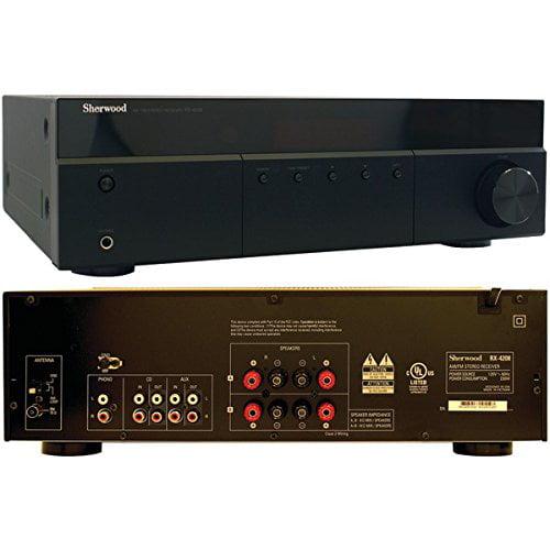 Sherwood RX-4208 200-Watt AM FM Stereo Receiver by Sherwood