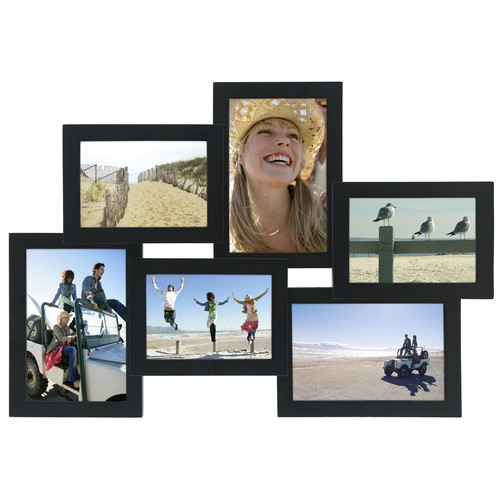 Malden Multi Crossroads 6-Opening Picture Frame