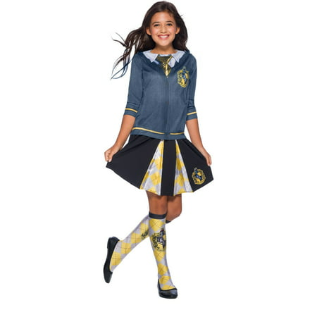 The Wizarding World Of Harry Potter Child Hufflepuff Halloween Costume Top - Harry Potter Halloween Costume