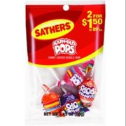 Sathers Rain-Blo Pops 12 pack (2.45 oz per pack) (Pack of 4)