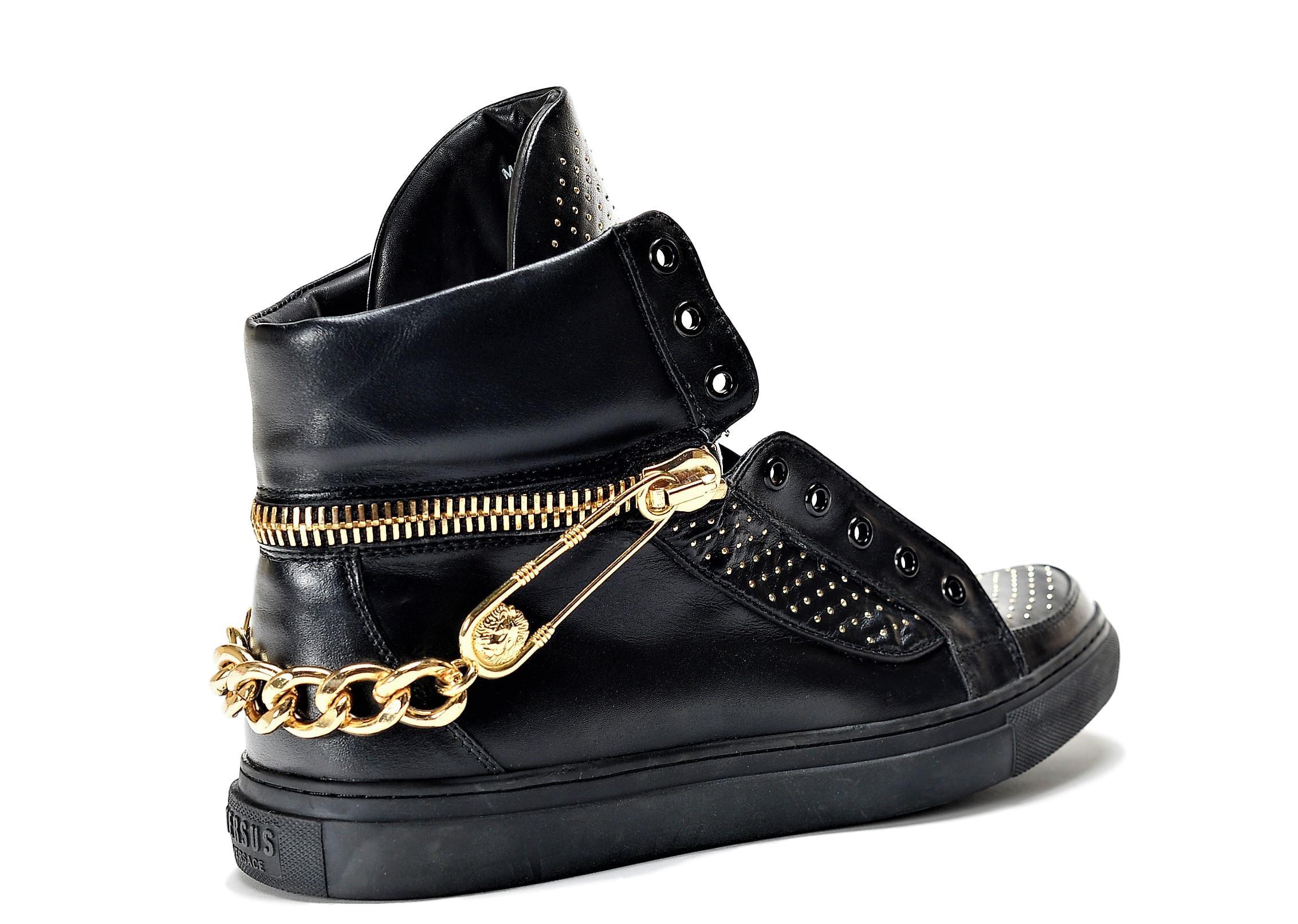 Versus Versace Versus Versace Men's Leather High Top