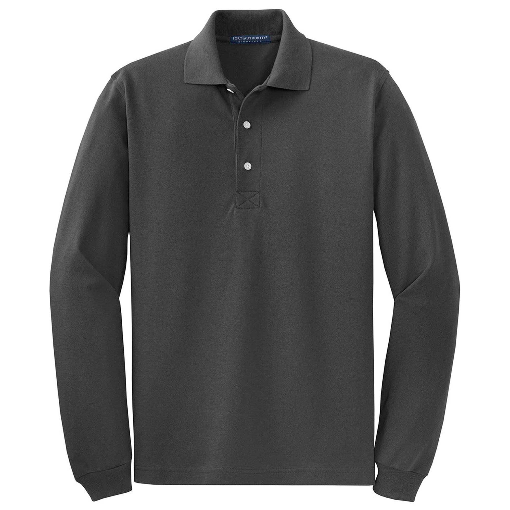 Port Authority Port Authority Mens Big And Tall Long Sleeve Polo