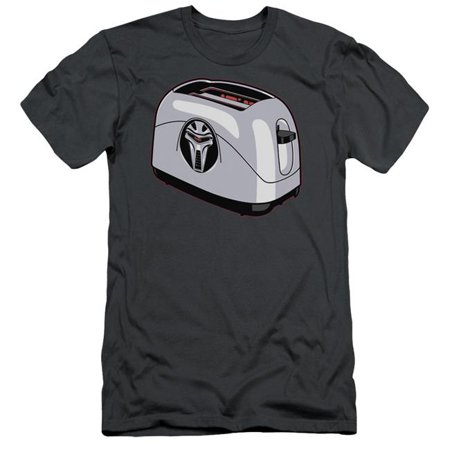BSG Toaster-S by S Adult Short Sleeve Shirt, Charcoal - 2X - image 1 of 1