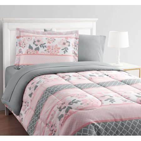 Carley Stripe 8-Piece Bed in a Bag With Extra Sheet Set