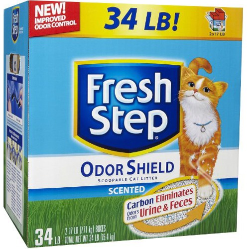 Fresh Step ODOR SHIELD Cat Clumping Litter