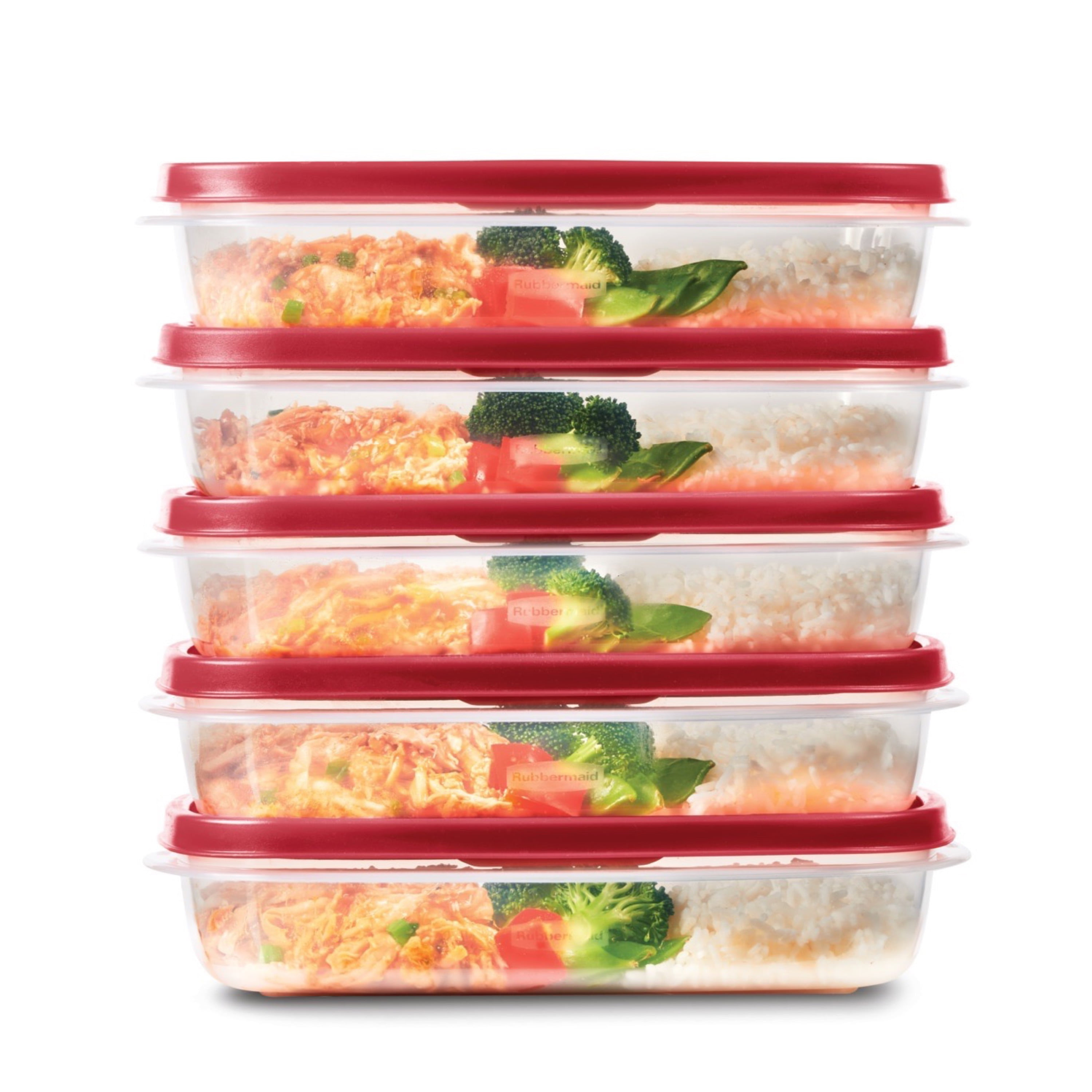 Details about  /50 Pack BPA Free Food Grade Meal Prep Deli Storage Freezer Containers w// Lids
