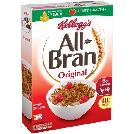 Image of All-Bran Original Cereal, 18.3 Oz