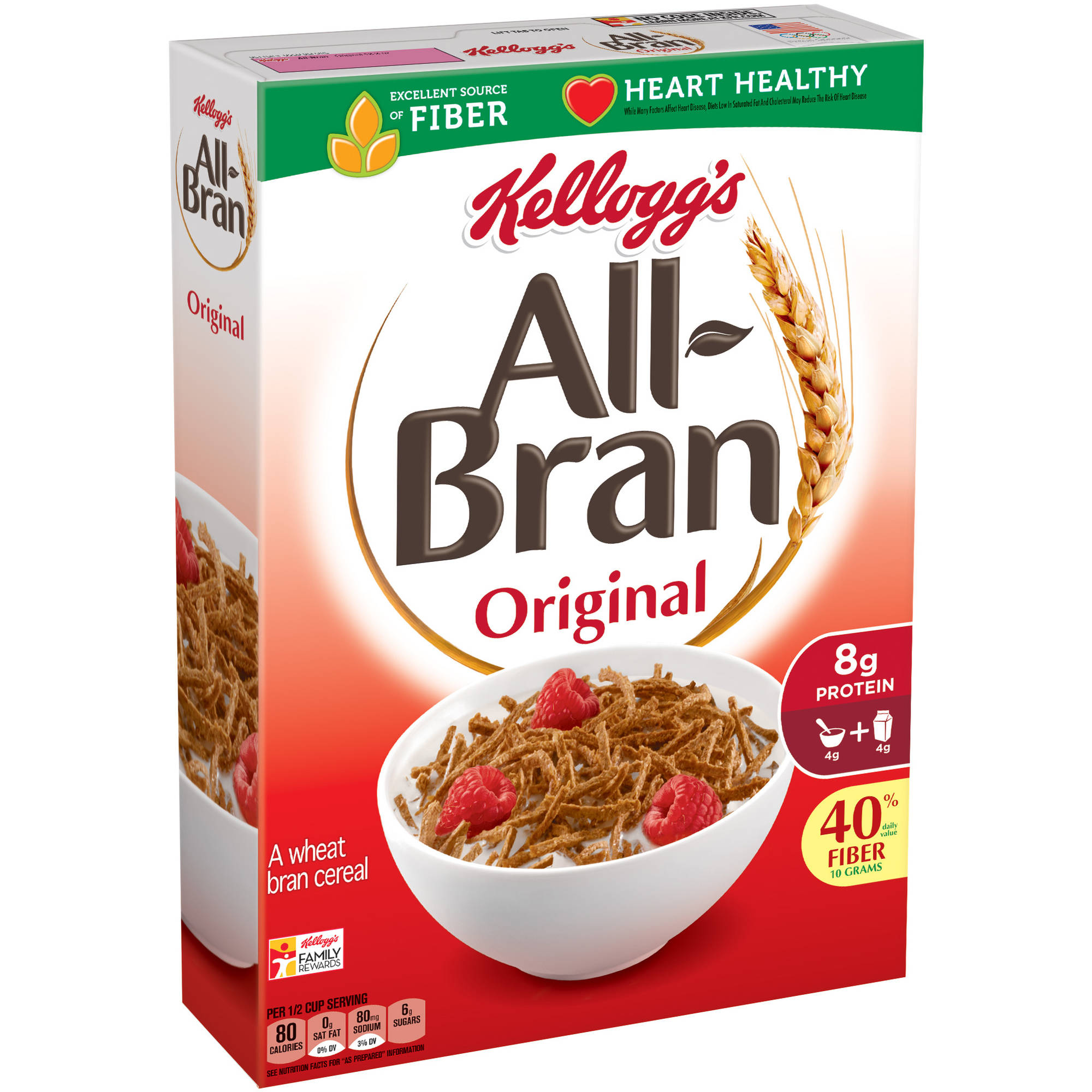 All-Bran Original Cereal, 18.3 Oz