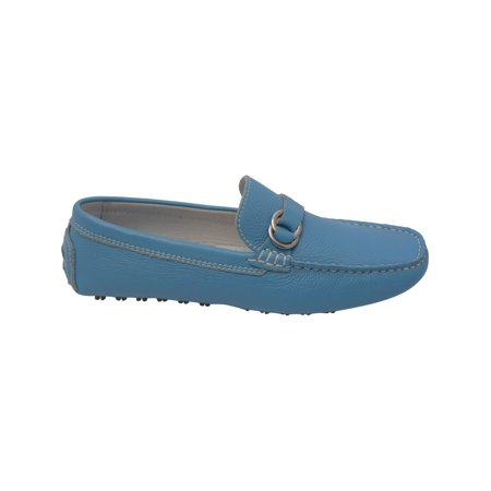 90125059552 L Amour Women Blue Lug Sole Casual Trendy Loafers Shoes 6 -10 Women s