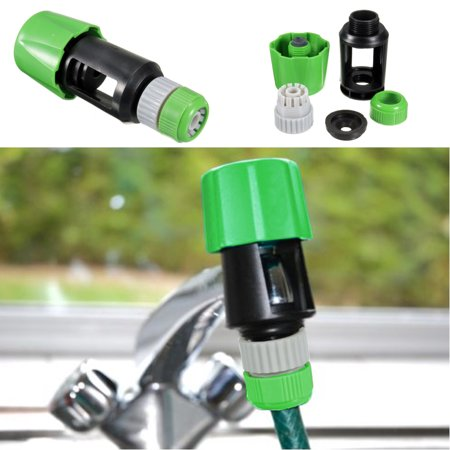 Universal Tap To Hose Pipe Snap Connector Mixer Garden Kitchen Watering Adaptor - image 7 de 7