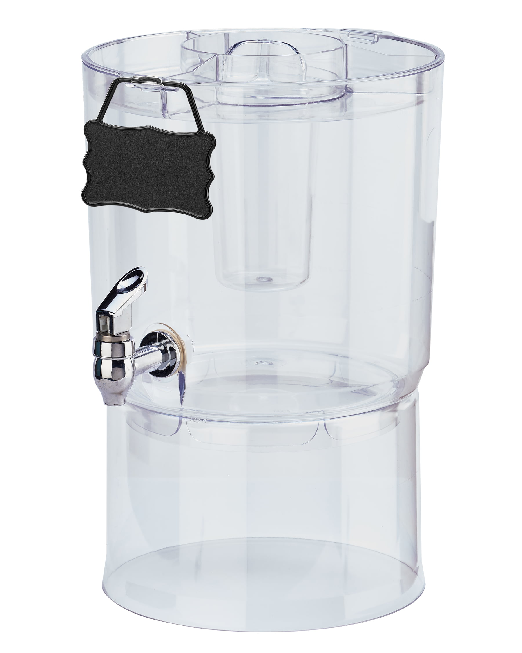 Cold Drinks Beverage Dispenser Water Party Fruit Punch Clear Container Storage