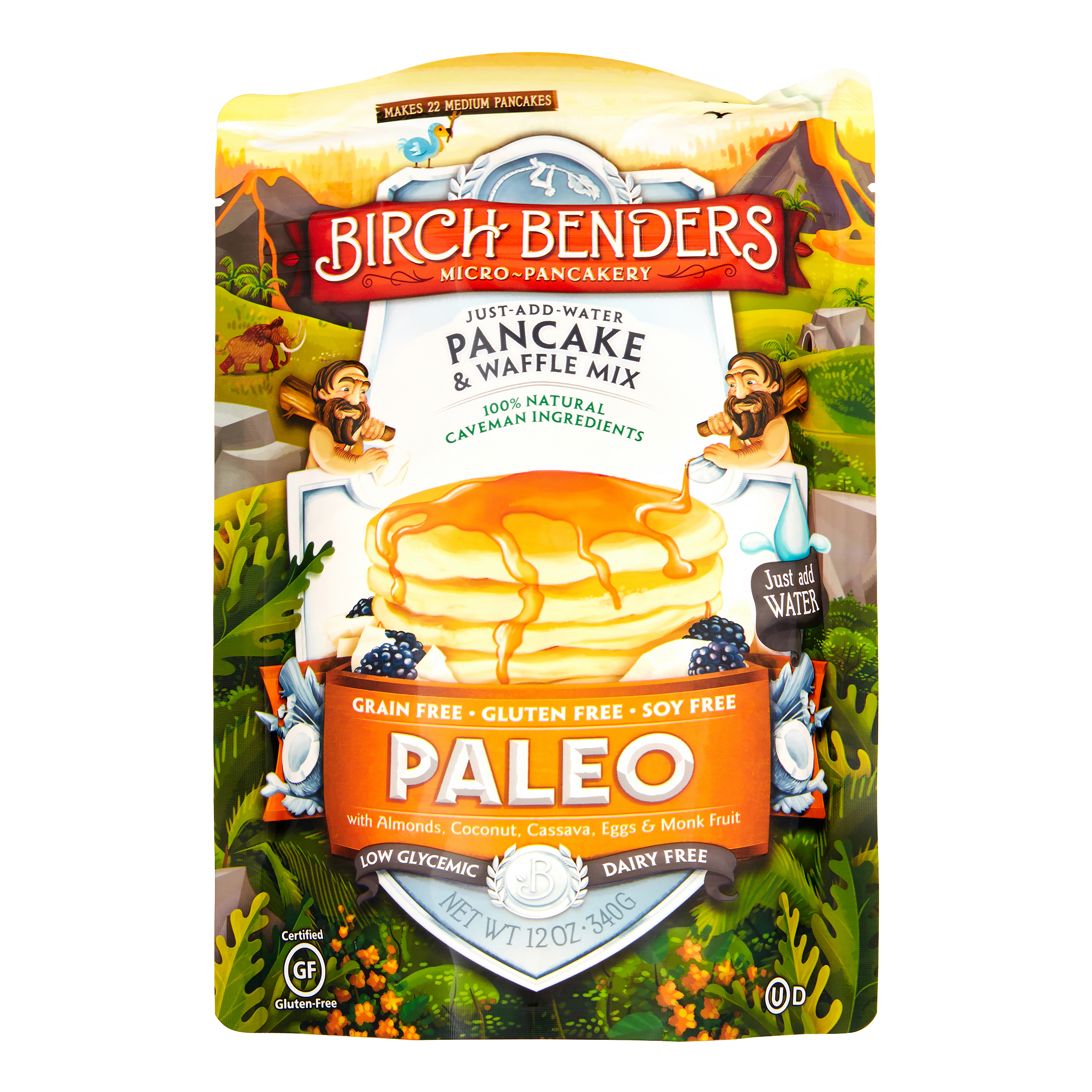 Birch Benders Paleo Pancake & Waffle Mix, 12 Oz, 1 Count
