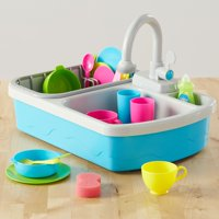 Spark. Create. Imagine. 20-Piece Kitchen Sink Play Set