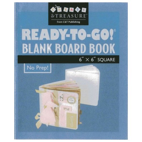 Ready-To-Go Blank Board Book: 6 x 6 Square, White