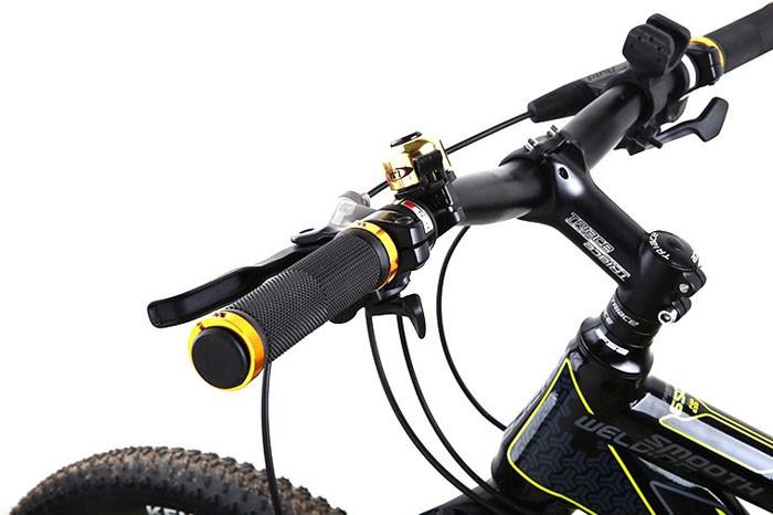 New Rubber MTB Bike Bicycle Handlebar Grips Cycling Anti Slip Straight Handlebar
