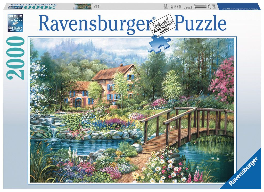 Ravensburger Shades of Summer 2000 Piece Puzzle by Ravensburger USA Inc