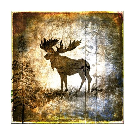 High Country Moose Print Wall Art By LightBoxJournal