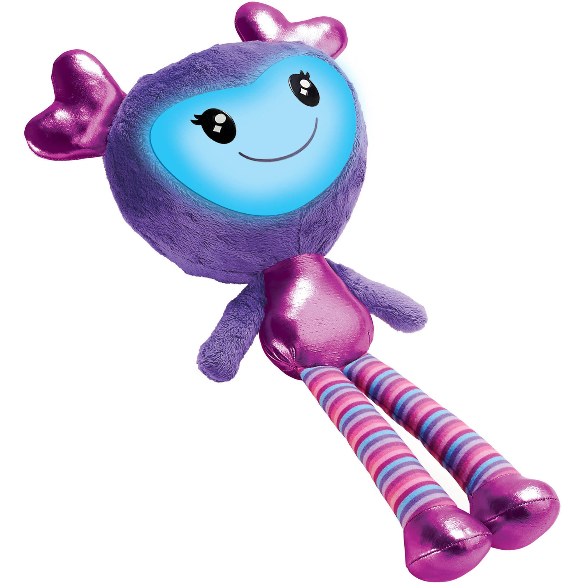 Brightlings Interactive Plush, Purple, 15