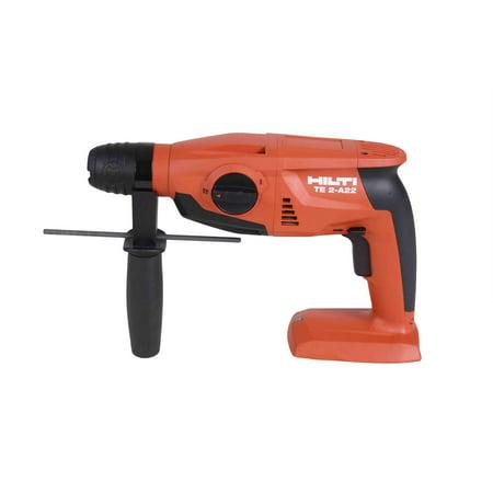 hilti te2 a22 sds hammer drill 22v tool 3 16 1 2 in bare. Black Bedroom Furniture Sets. Home Design Ideas