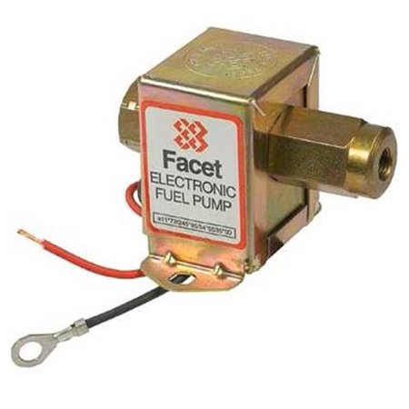 Solid State Thermo (New 12V Facet Solid State Fuel Pump Fits All Carbureted Engines Thermo King)
