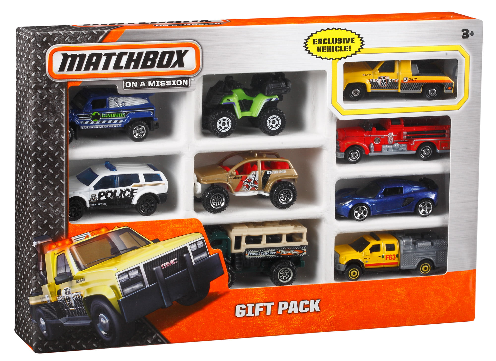 match box Matchbox collectibles - 1:43 scale - cars and semi trucks.