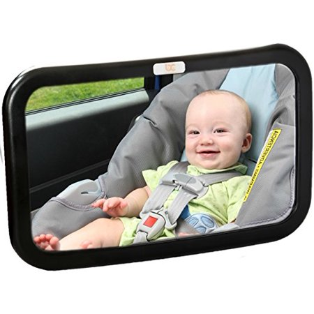 Baby Caboodle Backseat Baby Mirror - Extra Large - Ideal for Rear ...