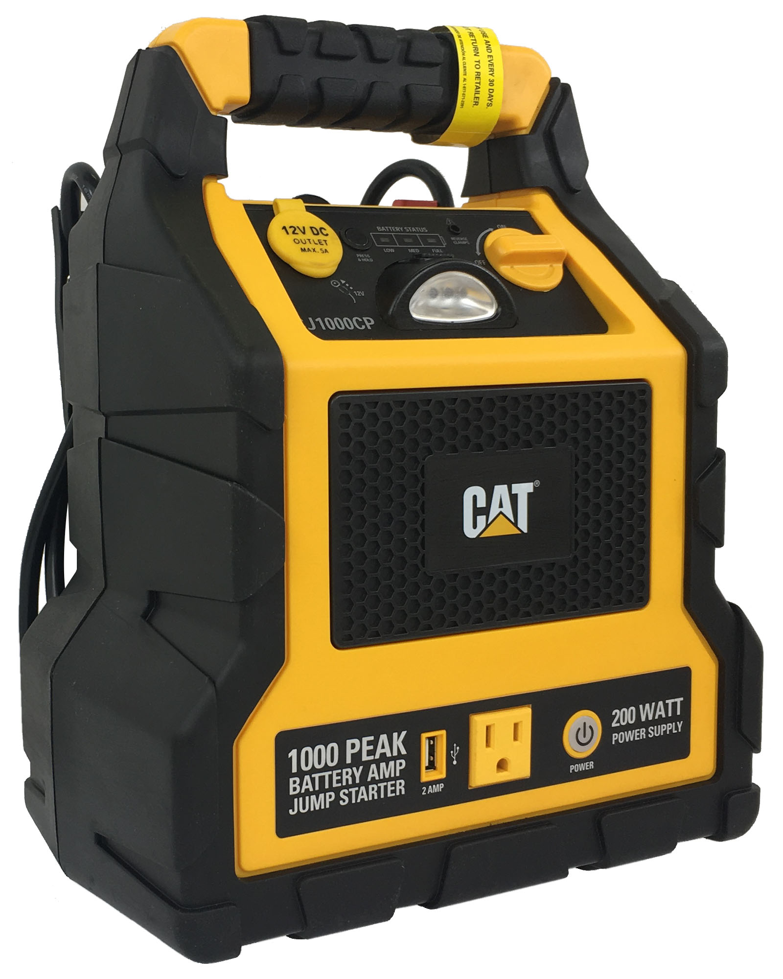 3 In 1 Cat Professional Power Station With Jump Starter & Compressor by Caterpillar