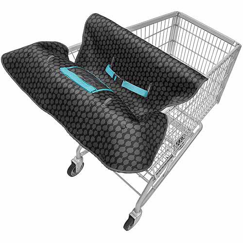 Infantino Slim Shopping Cart Cover, Black