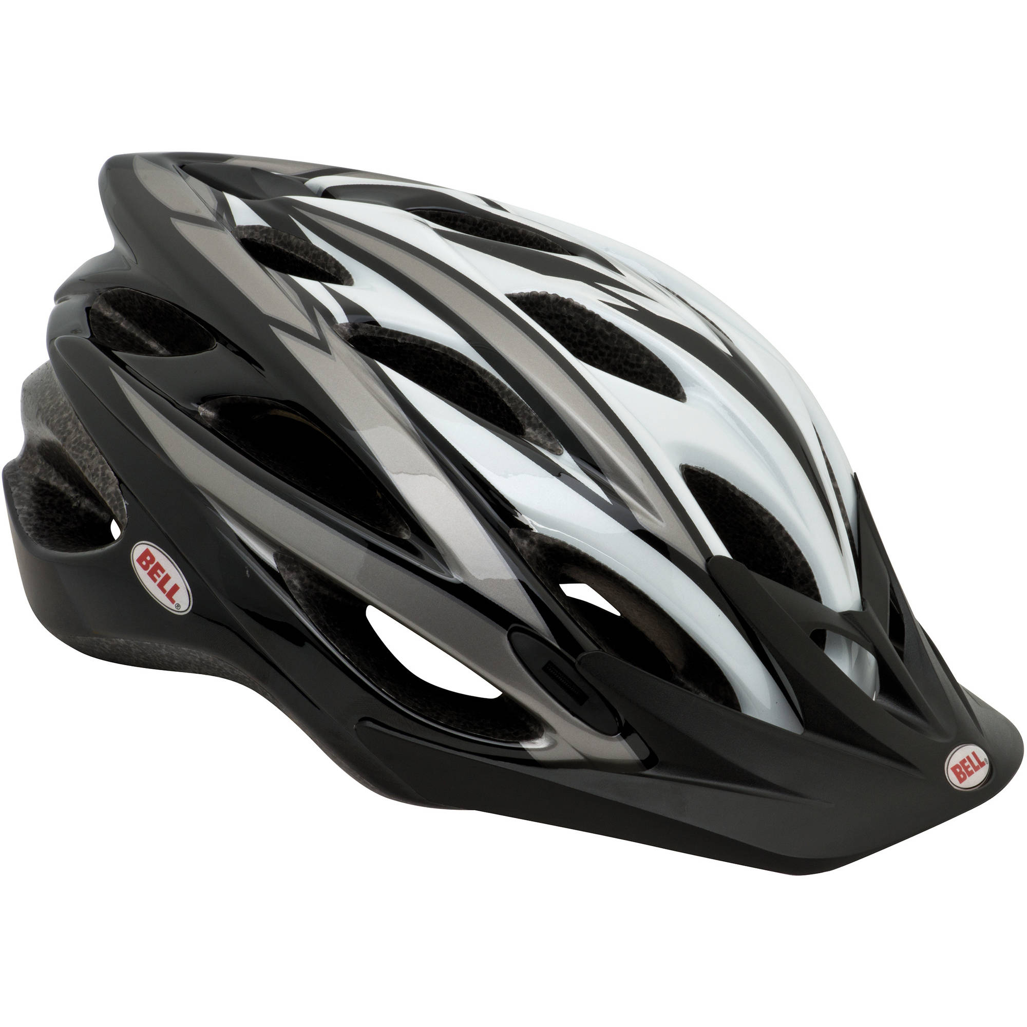Bell Sports 7049720 Explorer Adult Helmet, Black/White