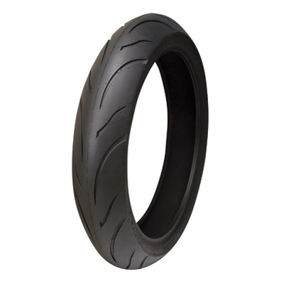 120/70ZR-17 (58W) Shinko 011 Verge Front Motorcycle Tire for BMW R nineT Racer 2017-2018