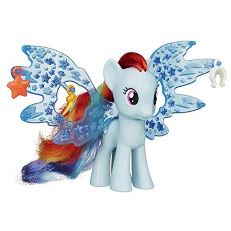 My Little Pony Cutie Mark Magic Friendship Charm Wings Rainbow Dash Figure - Rainbow Dash Light