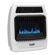Dyna-Glo BFSS20LPT-2P 20,000 BTU Liquid Propane Blue Flame Vent Free Thermostatic Wall Heater