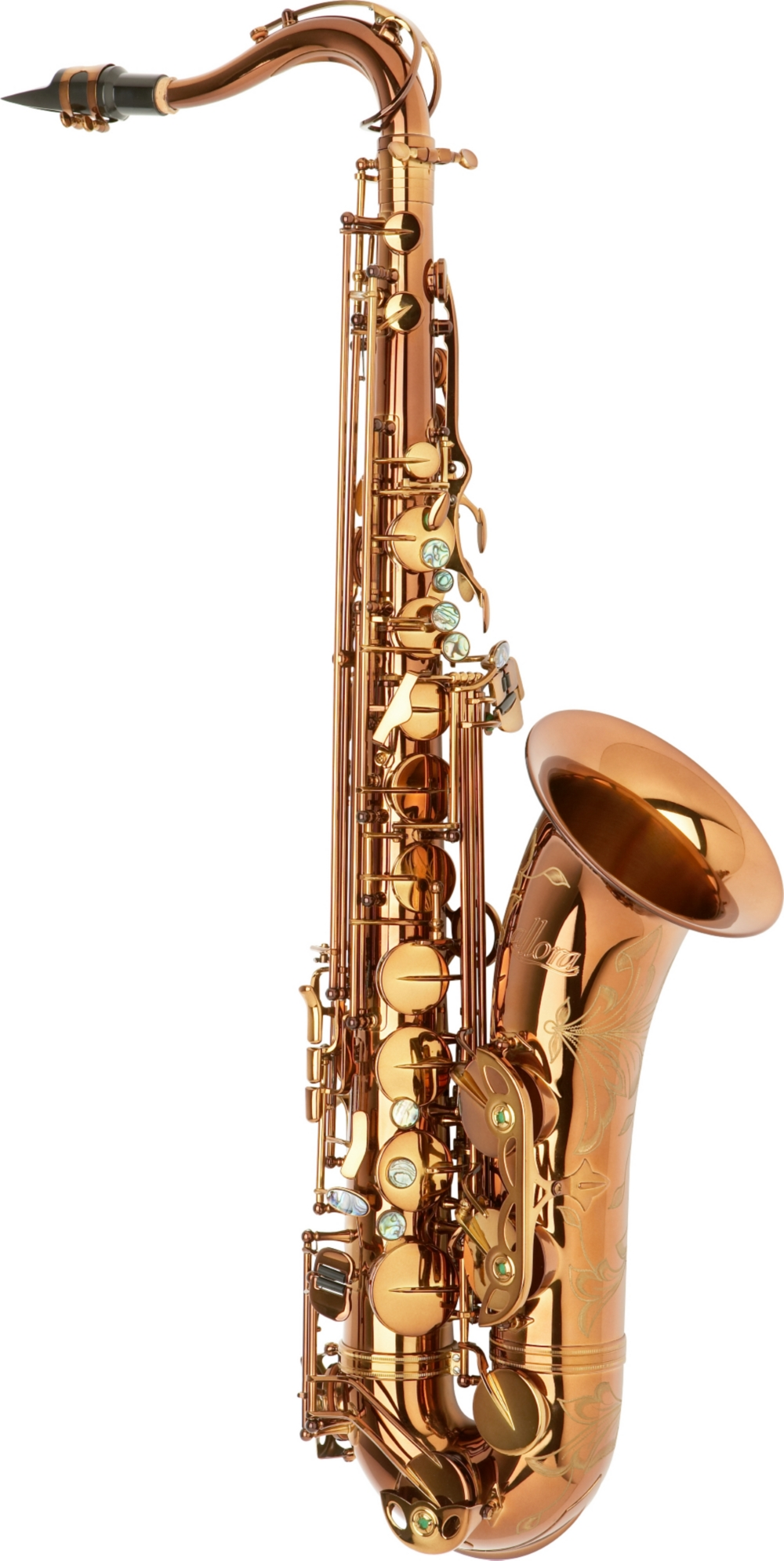 Allora Chicago Jazz Tenor Saxophone AATS-954 Dark Gold Lacquer by Allora