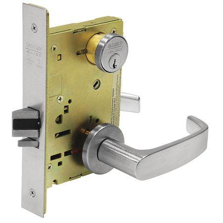 SARGENT 8237 LNL 26D Heavy Duty Mortise Lockset,Lever,Grd. 1