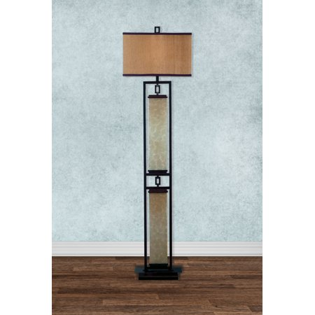 Plateau Collection 1 Light (Kenroy Home Plateau Floor Lamp, Oil Rubbed)