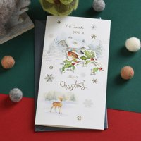 AkoaDa Merry Christmas Card Holiday Greeting Cards Blessing Card Invitations Gifts Xmas