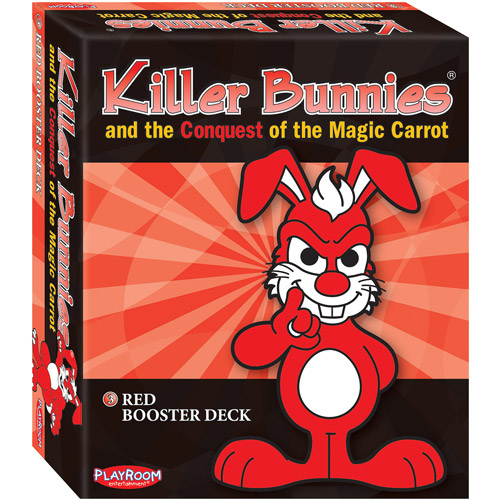 Killer Bunnies: Red Conquest Booster Multi-Colored