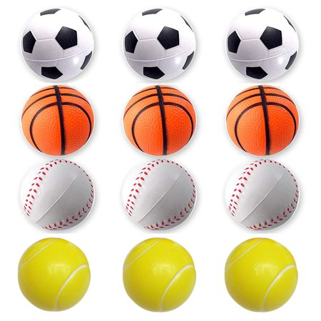 Mini Sports Balls for Kids Party Favor Toy Soccer Ball Basketball Football Baseball for Stress Anxiety Relief Relaxation;Mini Sports Balls for Kids Toy Soccer Ball Basketball Football Baseball