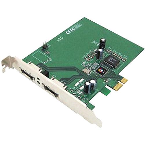Siig SC-SAE412-S3 2 Port eSATA II PCIe Pro